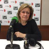 Amparo Messía de la Cerca, durante la entrevista en Onda Cero