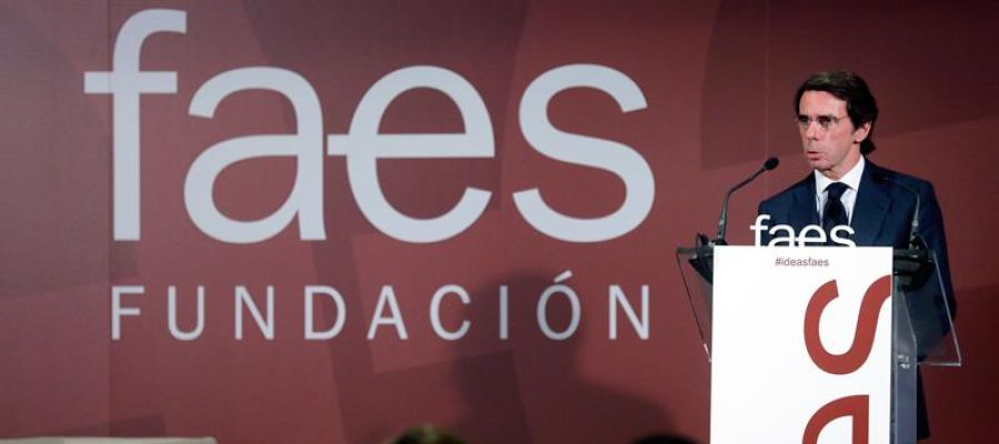 Aznar en el tercer Foro Ideas FAES
