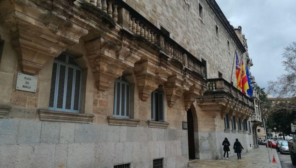 Plaza del Mercado-Audiencia Provincial de Palma