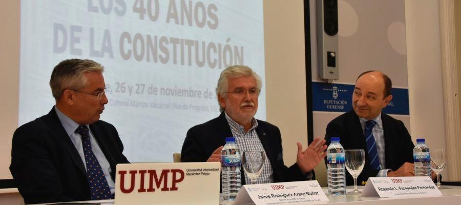 Rosendo Fernandez inaguracion dos 40 anos da constitución