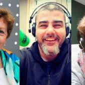 Los profesores Julia Resina, Ramón Rodríguez y Bárbara de Aymerich