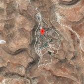 Vista aérea de Pnei Hever, Cisjordania