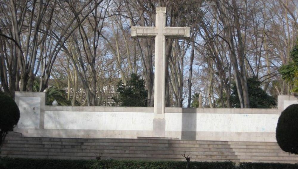 Cruz del Parque Ribalta de Castellón.