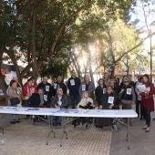 Concentración de COCEMFE en Castellón.