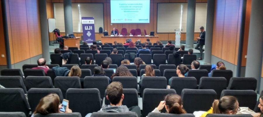 La Cátedra Ciutat de Castelló de la UJI y la Asociación Geomett presentan un informe de emprendimiento en el Mediterráneo