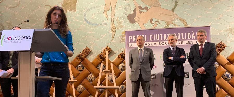 SURT, guanyadora del VI Premi 'Ciutat Solidària'