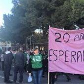 Concentración del Ampa del CP La Paz de Torrellano