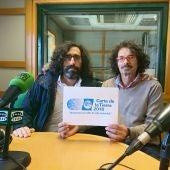 Javier Seisdedos y Jose Santocildes