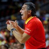 El seleccionador español, Sergio Scariolo.