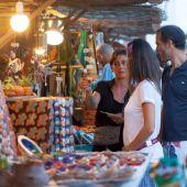Mercadillo de artesanía en Palma