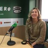 Cristina Llorens, una de las jugadoras más importantes del CV Granadas de Elche de la Superliga 2 de voleibol.