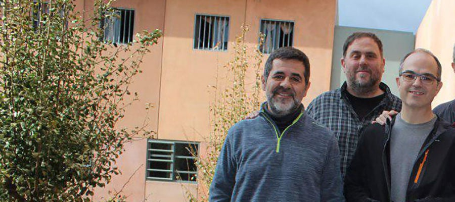 Jordi Sánchez y Jordi Turull