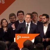 Rivera anuncia que Marín va a presentar su candidatura para gobernar la Junta