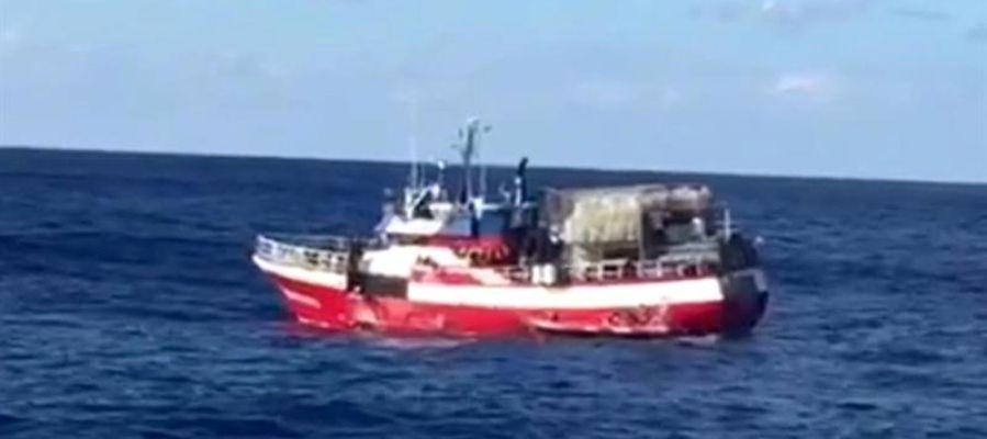 El pesquero 'Nuestra Madre de Loreto'