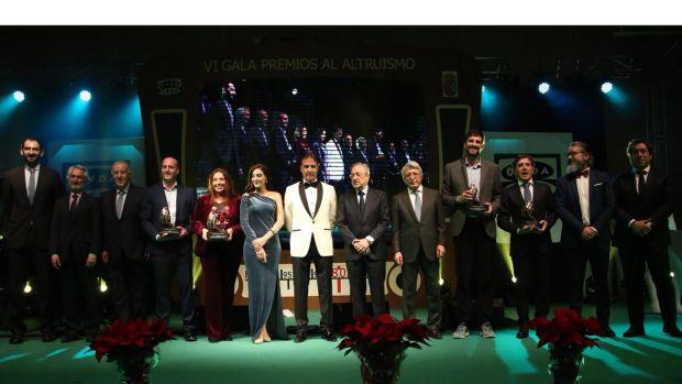 VI Gala de los Premios al Altruismo 2018