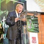 Manolo Jaén durante la gala de los VII Premios Ilicitanos en la Onda