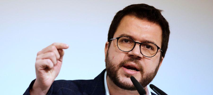 El vicepresidente del Govern y adjunto a la presidencia de ERC, Pere Aragonés