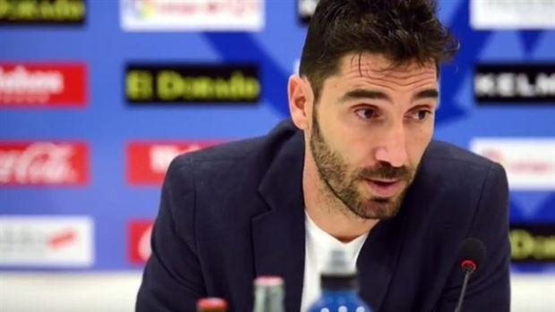 """David Cobeño: """"No hay mejor entrenador para el Rayo que Míchel, confiamos en que cambie esta situación"""""""