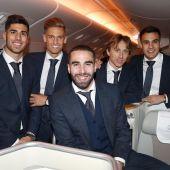 La plantilla del Real Madrid, rumbo a Abu Dabi
