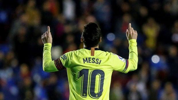 El Sanedrín: La diferencia la marca Leo Messi ante un buen Levante