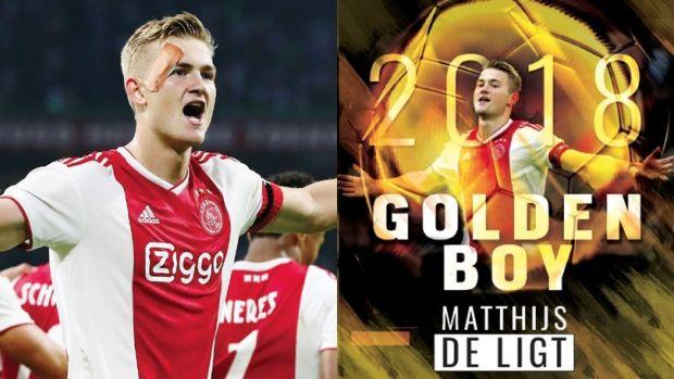 Matthijs De Ligt gana el Golden Boy 2018