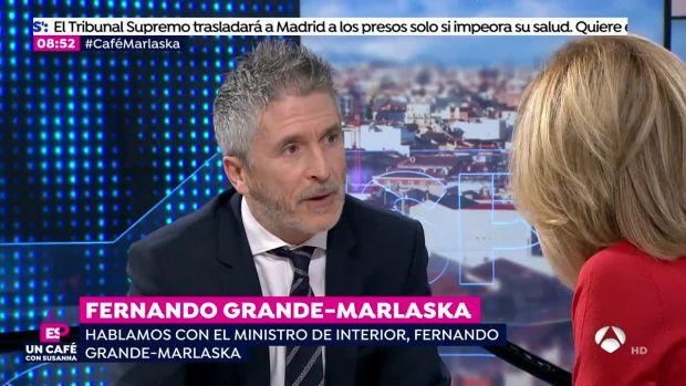Un café con Susanna: Fernando Grande-Marlaska (17-12-18)