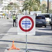 Control de alcoholemia de la Policía Local de Palma