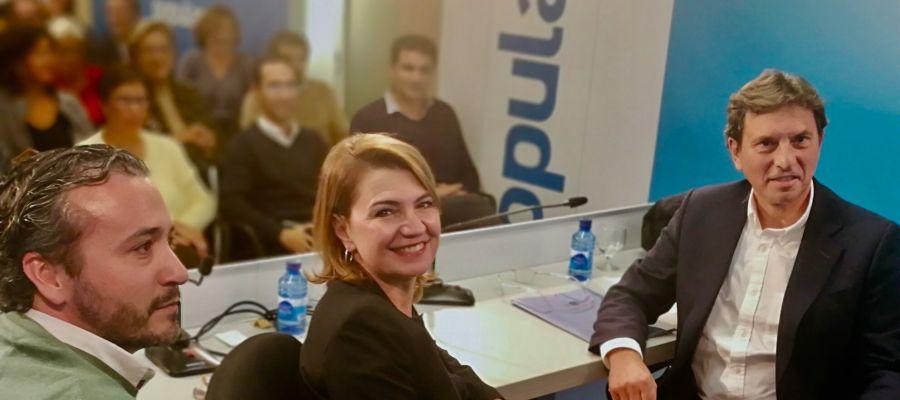 Fernando Rubio, Marga Duran y Mateu Isern