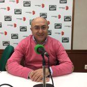 Florencio Rodríguez, durante la entrevista en Onda Cero C.Real