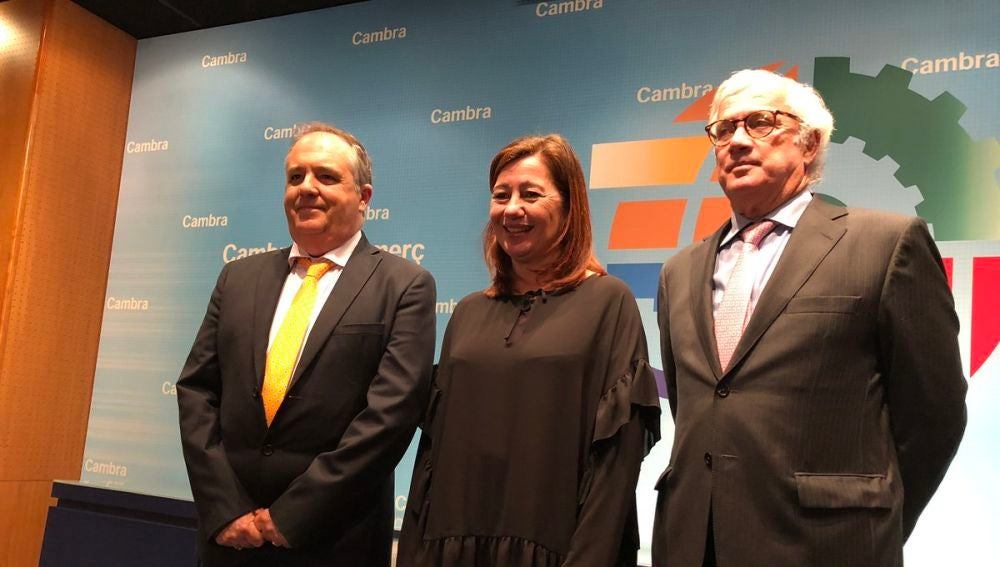 Antoni Mercant, Francina Armengol y José Luis Roses