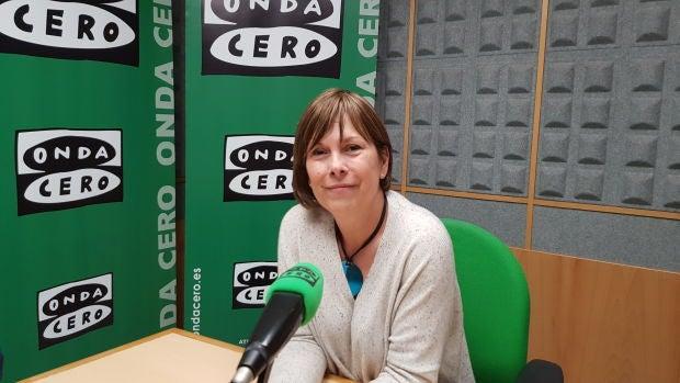 """Uxue Barkos: """"Las encuestas dan la oportunidad a Geroa Bai de mirar a los ojos con ambición democrática a la que ha sido primera fuerza de Navarra"""""""