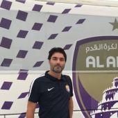 El entrenador de portero del Al Ain, Luis Aragón.