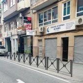 Zona en la que se reclama recuperar aparcamientos