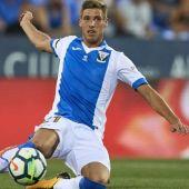 El centrocampista del Leganés, Rubén Pérez.