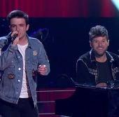 La Voz - Audiciones a ciegas 2 - Pablo López y Javier Erro interpretan 'Despacito' y 'Devuélveme la vida'