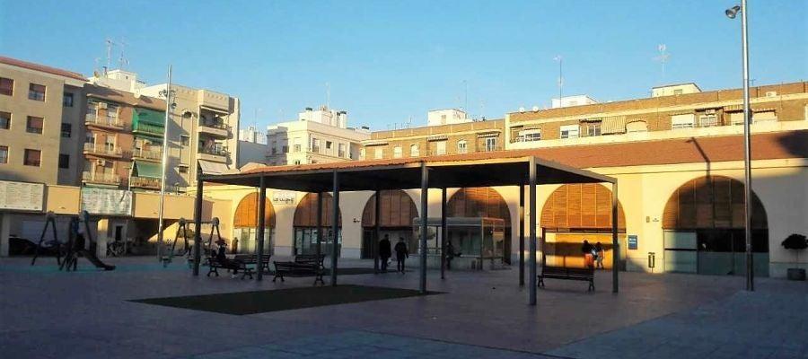 Plaça de la Llotja de Altabix en Elche.