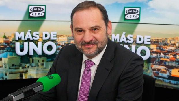 """José Luis Ábalos: """"El derecho de manifestación no es absoluto ni puede aplastar a los demás derechos"""""""