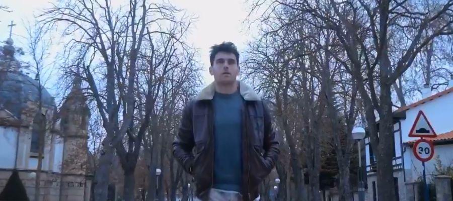 Ibai Gómez en una imagen de su vídeo de despedida