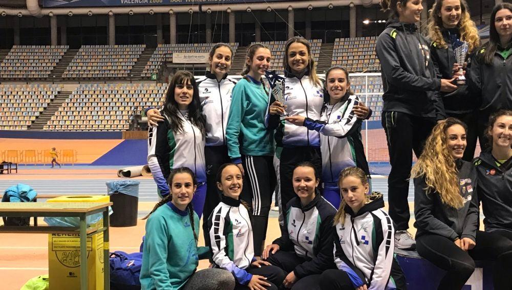 El Juventud Atlética de Elche, bronce en el Autonómico de clubes