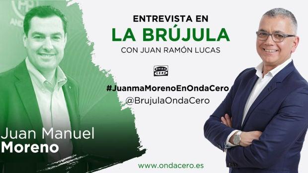 Juan Manuel Moreno en La Brújula