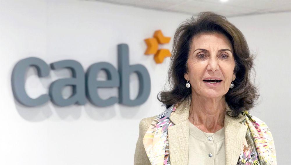 La presidenta de la CAEB, Carmen Planas
