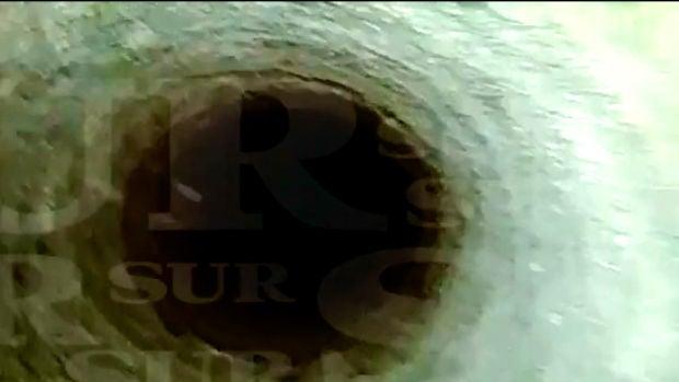 El angustioso vídeo que recoge el descenso por el pozo donde cayó Julen