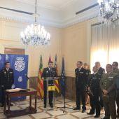 Presentación del nuevo Comisario Provincial de la Policía Nacional de Castellón, Emilio Romero.