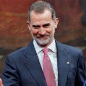 El Rey Felipe VI recibe el Premio Convivencia otorgado por la Fundación Manuel Broseta