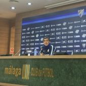 Juan Ramón López Muñiz, entrenador del Málaga CF