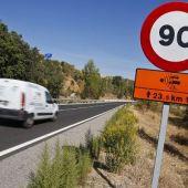 Se reduce a 90 km/h la velocidad máxima en las vías convencionales
