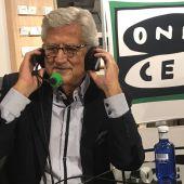 El periodista radiofónico, Pepe Domingo Castaño.