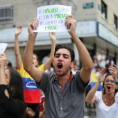 Manifestaciones en las calles de Venezuela