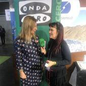 Amparo Marco entrevistada por Lorena Pardo en Castellón en la Onda