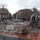 Obras en Puerta de los Mártires de Alcalá de Henares